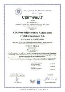 PN-EN ISO 9001-2009